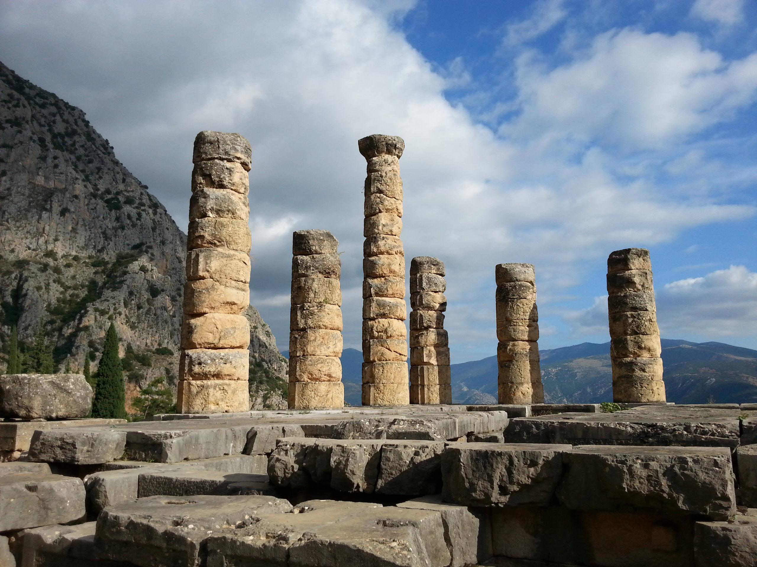 Grecja-delfy-świątynia-apollina