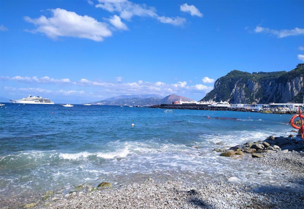 Włochy Południowe-i-Sycylia-capri-plaża