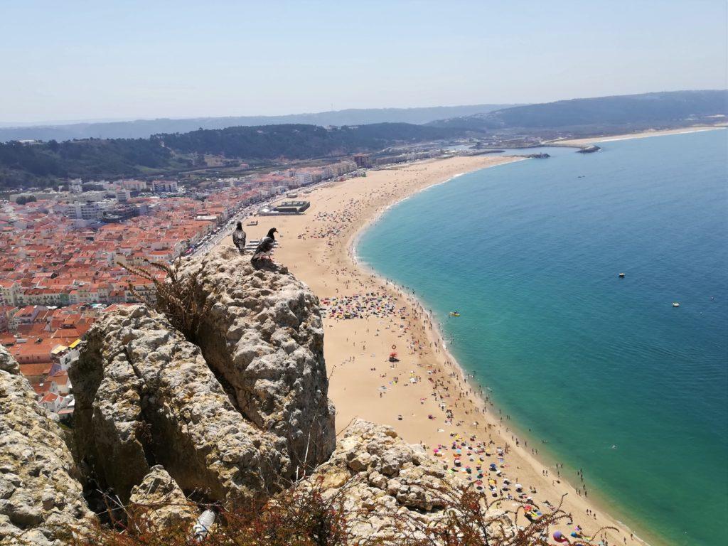 Nazare-plaża