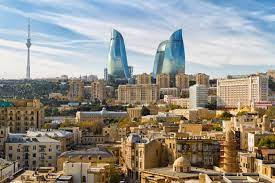 Azerbejdżan - baku - fire towers