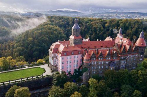 Dolny Śląsk - zamek Książ